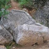 Virgin Mary's footprint