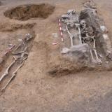"""2020 г. - Археологическо проучване на Многослоен обект със средновековен некропол в зона Б на АР """"Августа Траяна – Верея – Стара Загора"""
